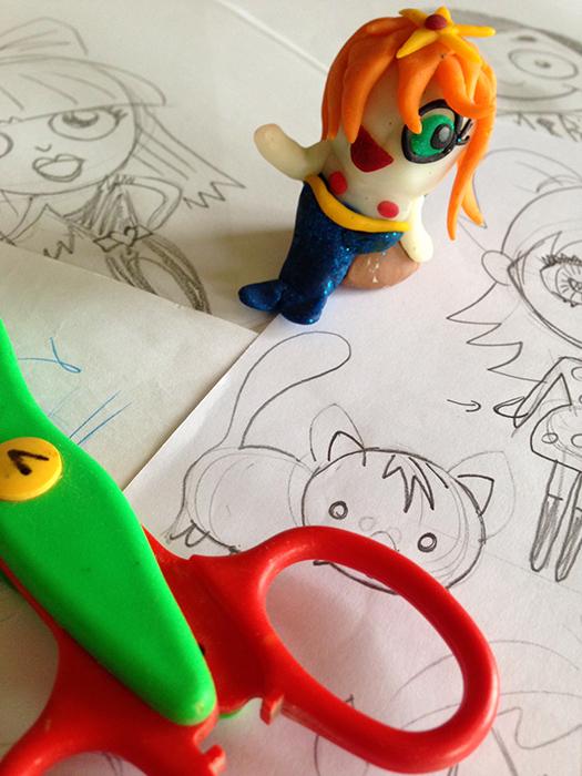 CHIBI'S- Japanse stripfiguurtjes leren tekenen en boetseren met Vero Beauprez