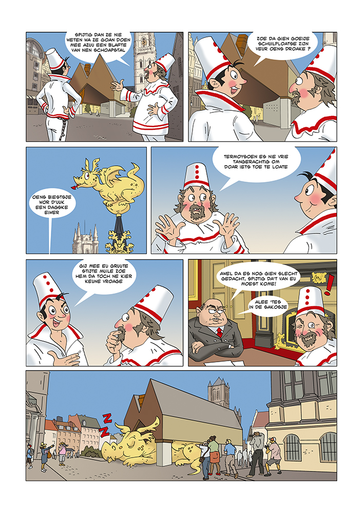 STRIP IN JE STREEKTAAL met Vero Beauprez