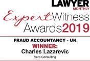 Charles Lazarevic Vero Consulting Award