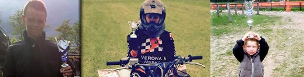 Verona Works rijders in prijzen bij Graafhorstcross