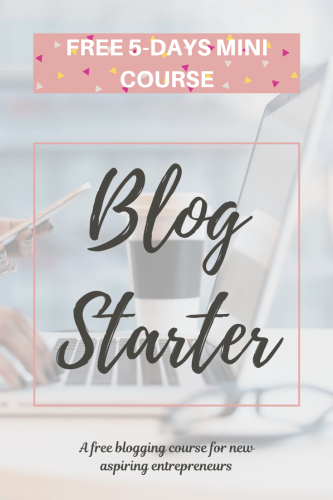 Blog Starter FREE course