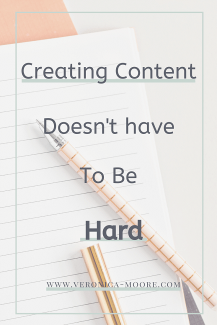Creating Content doesn't have to be hard PIN