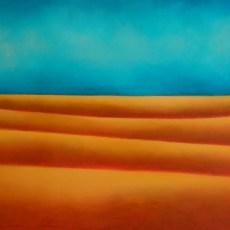 "La Pace dell'Anima 28x55"" Acrylic on canvas, 2009  SOLD"