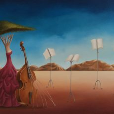 "Concerto Silente 20x30"" Oil on canvas, 2011  SOLD"