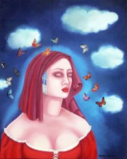 """When Freedom sleeps 30x24"""" Oil on canvas, 2007  SOLD"""