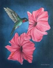 "Hazelle  20x16"" Oil on Canvas, 2007  SOLD"