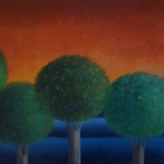 """Meditation #3  26x37"""" Oil on canvas, 2012  SOLD"""