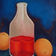 """The Essence #2 20x16"""" Oil on canvas, 2010  SOLD"""