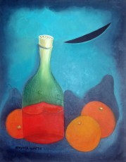 """The Essence #3  20x16"""" Acrylic on canvas, 2007  SOLD"""