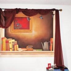 "Il Volo 60x48"" Acrylic on canvas, 1999  SOLD"