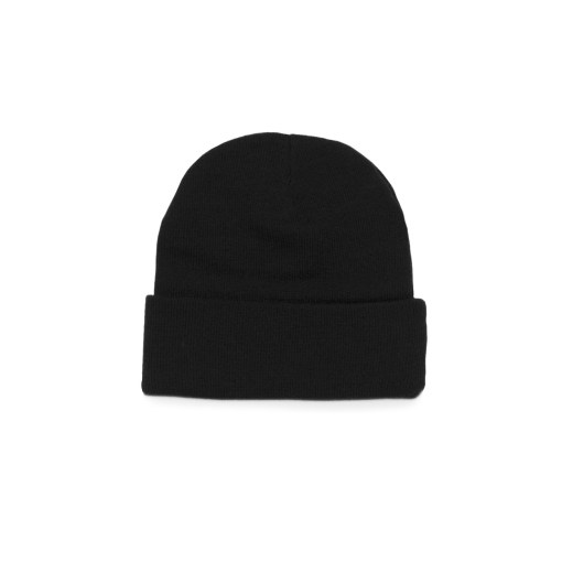 custom embroidered beanie black
