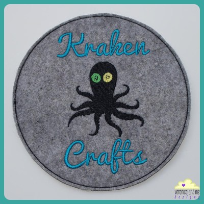 Kraken Crafts Embroidered Patch