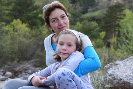 Semana Santa - Olivia y mamá