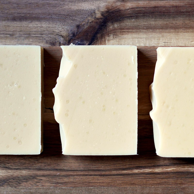 Tasmanian soap with sheep milk and cucumber