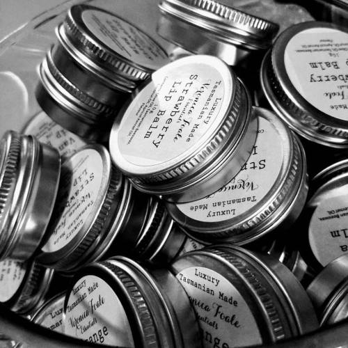 Lip Balms in a tin
