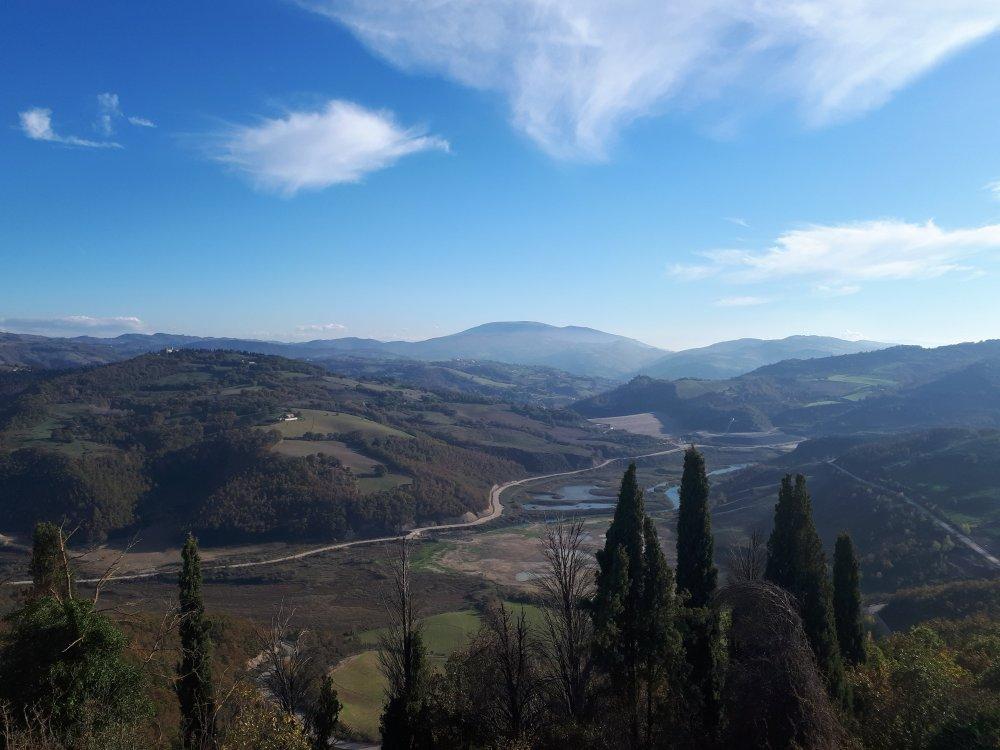 Castello di Biscina panorama