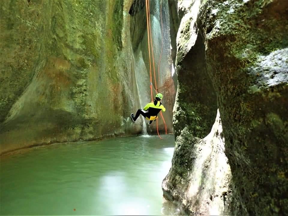 Canyoning Riancoli