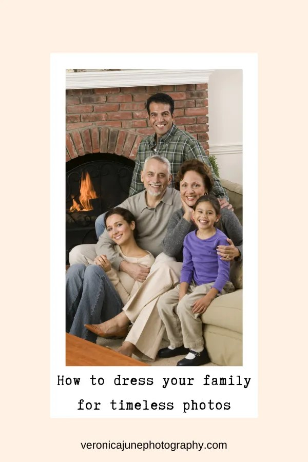 Pin image #2 for what to wear in family portraits