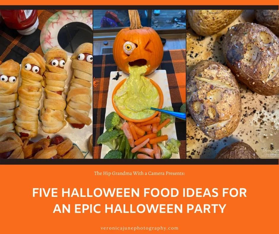 Insta Image for halloween food ideas