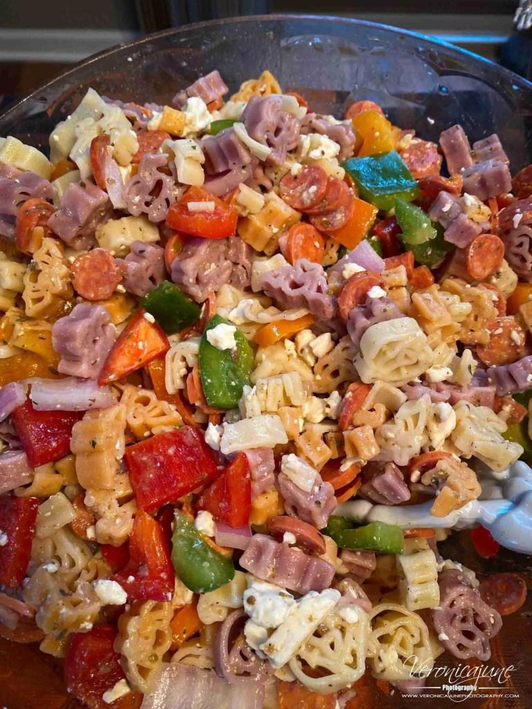 Halloween Food Ideas - Halloween Pasta Salad