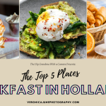 Ad image showing foods for breakfast in holland mi