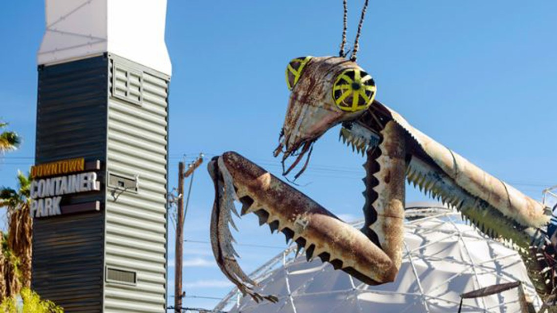 Las Vegas Downtown Container Park Mantis