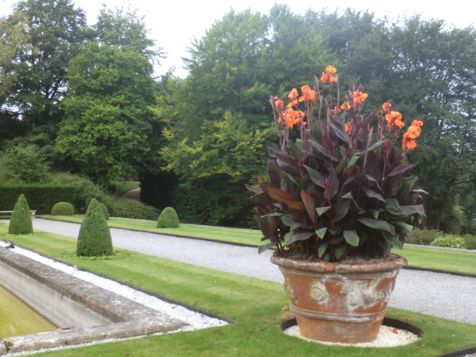 Gardens at Blenheim Palace