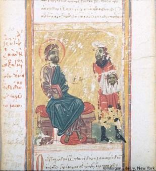 9. Gesù dà il Mandylion ad Anania