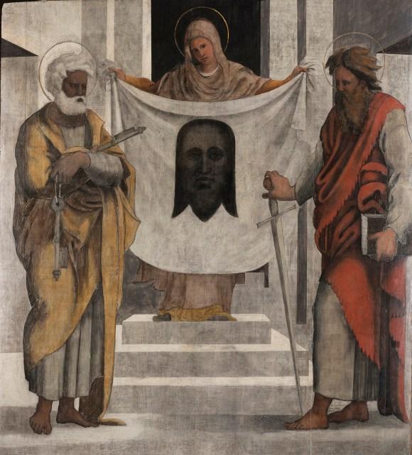 06_Ugo-da-Carpi-La-Veronica-tra-i-santi-Pietro-e-Paolo-Città-del-Vaticano-Fabbrica-di-San-Pietro