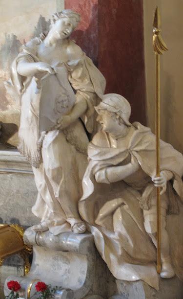 sv. Veronika a sv. Longin
