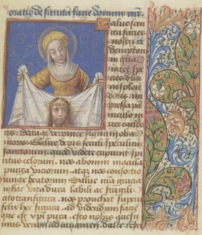 Horae ad usum Romanum, dictae Heures de Comeau. --1490