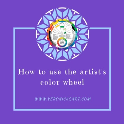 how to use the artist's color wheel