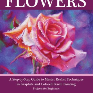 how to draw a flower art book