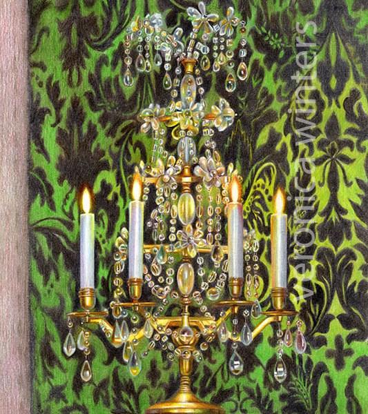 candleholder -v-winters
