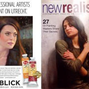 This painting was featured on the back cover of New Realism magazine as an ad for Dick Blick art supplies.