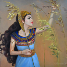 cleopatra, paintings of iconic women