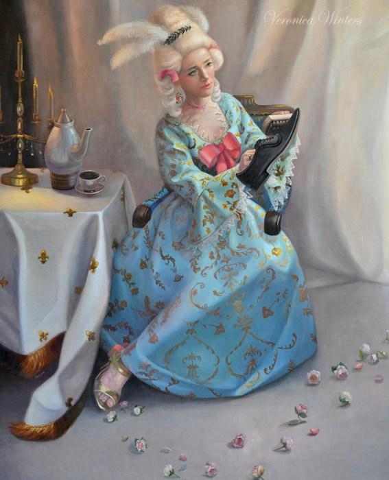 Marie-Antoinette painting