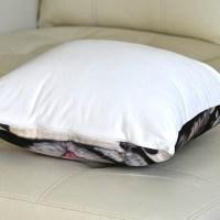 veronica winters custom pillow white back