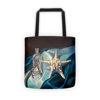 Tote bags for work: Starfish and Key