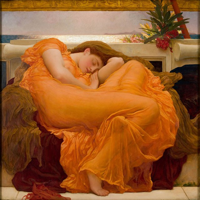 Flaming June, Frederic_Lord_Leighton_(1830-1896)