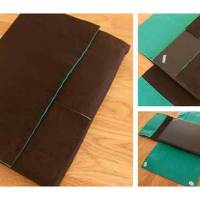 DIY: Felt Foldable Computer Case