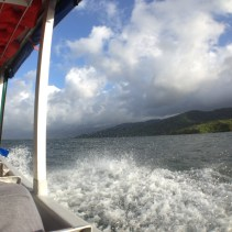 Lake Arenal, from a boat