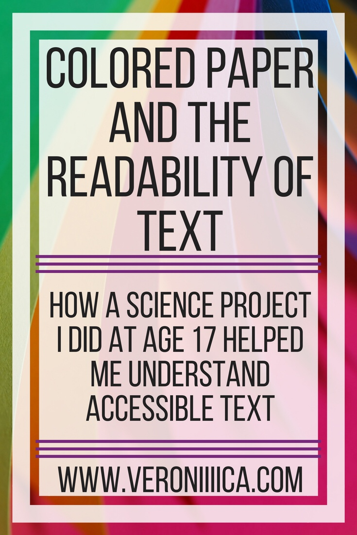 how colored backgrounds improve the readability of text
