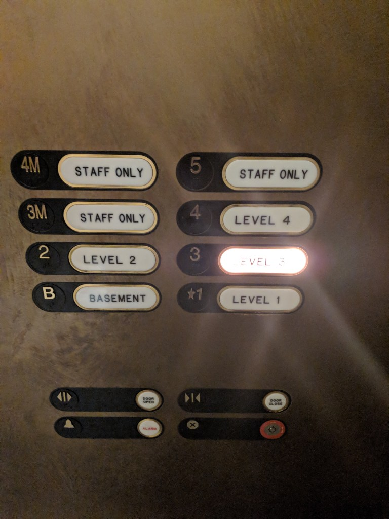 Large elevator buttons