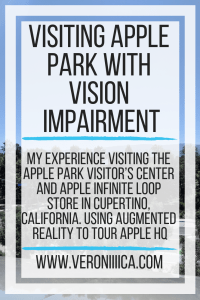 My experience visiting the Apple Park Visitor Center and Apple Infinite Loop store in Cupertino, California. Using augmented reality to tour Apple HQ