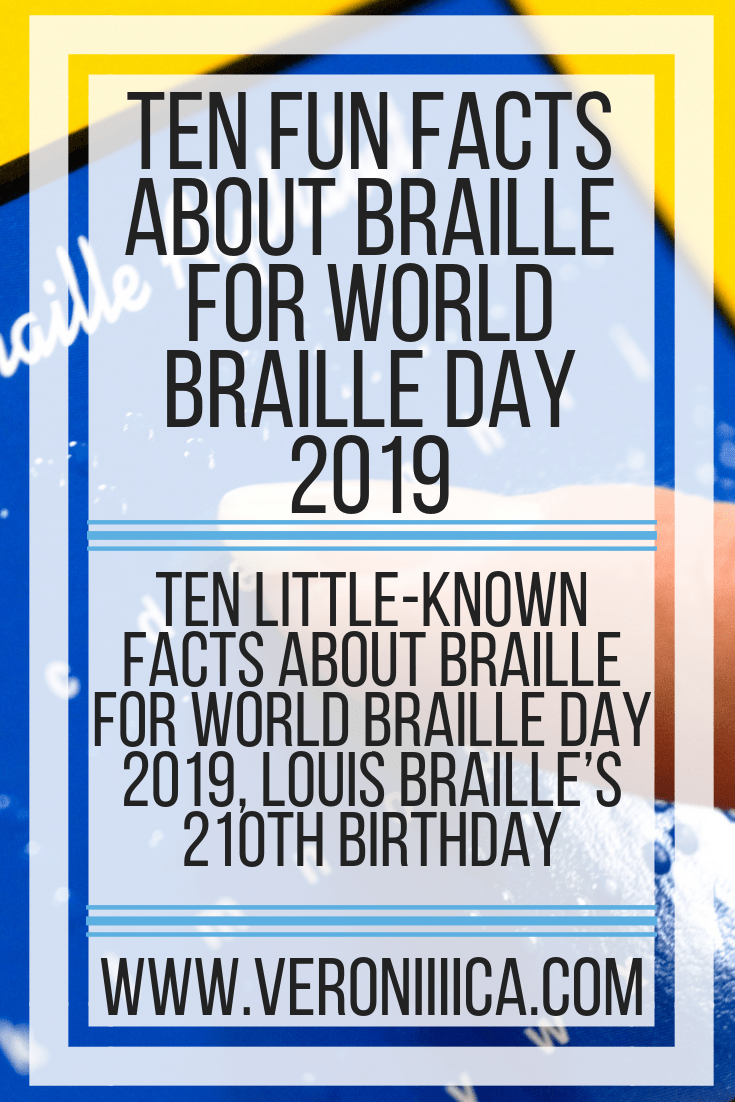 Ten fun facts about Braille for World Braille Day, Louis Braille's 210th birthday