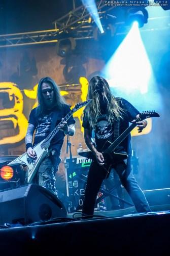 Alexi Laiho & Roope Latvala - Children Of Bodom @ Basinfirefest 2012