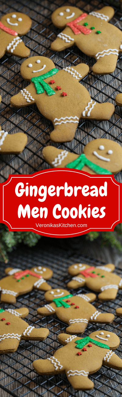 Classic Gingerbread Men Cookies Recipe