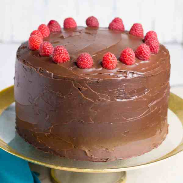 Chocolate Devil's Food Cake