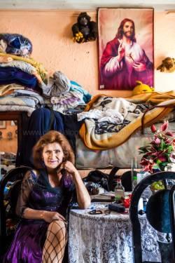 Crossdresser, Bogota, Colombia. Photo Credit Claudia C. Lopez